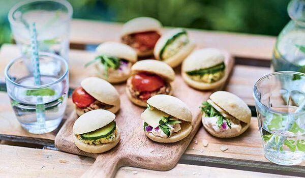 9 mini-sandwichs façon pan bagnat