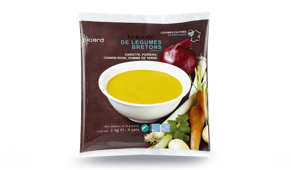 Velouté de légumes bretons