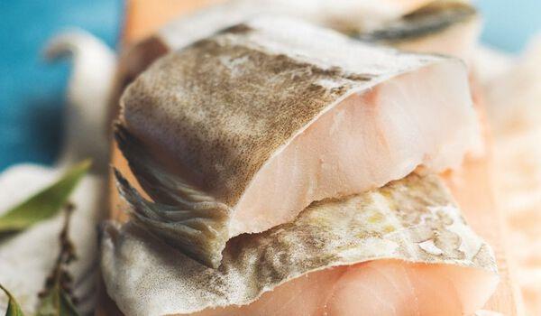 Morue dessalée avec peau, prête à cuire, Portugal