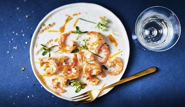 Crevettes déco élevées Vietnam, Honduras, Equateur