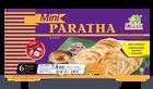 6 mini-pains paratha, pain feuilleté, Kawan