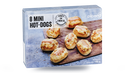 8 mini hot dogs