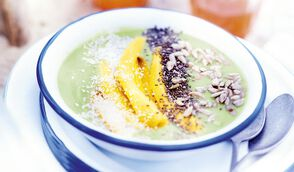 Smoothie bowl avocat-mangue