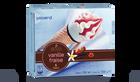 6 cônes vanille-fraise