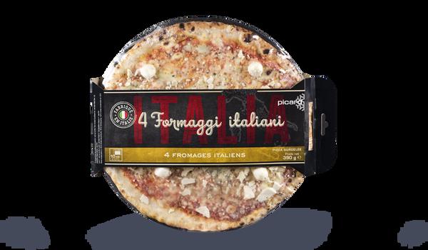 Pizza 4 formaggi italiani Italia