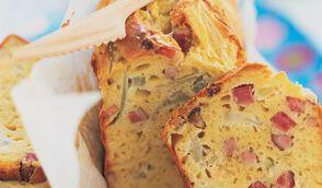 Cake au fenouil et aux lardons