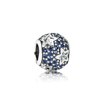 Midnight Blue Pavé Stars Charm