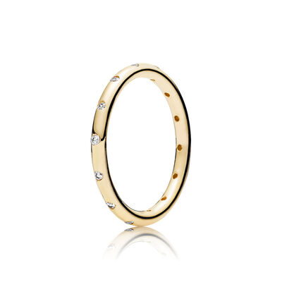 Gold Droplets Ring