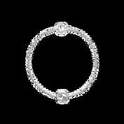 Essence Cancer Beaded Silver Bracelet