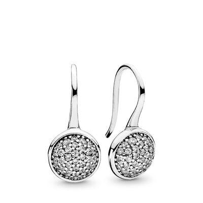 Glänzende Tröpfchen Ohrringe