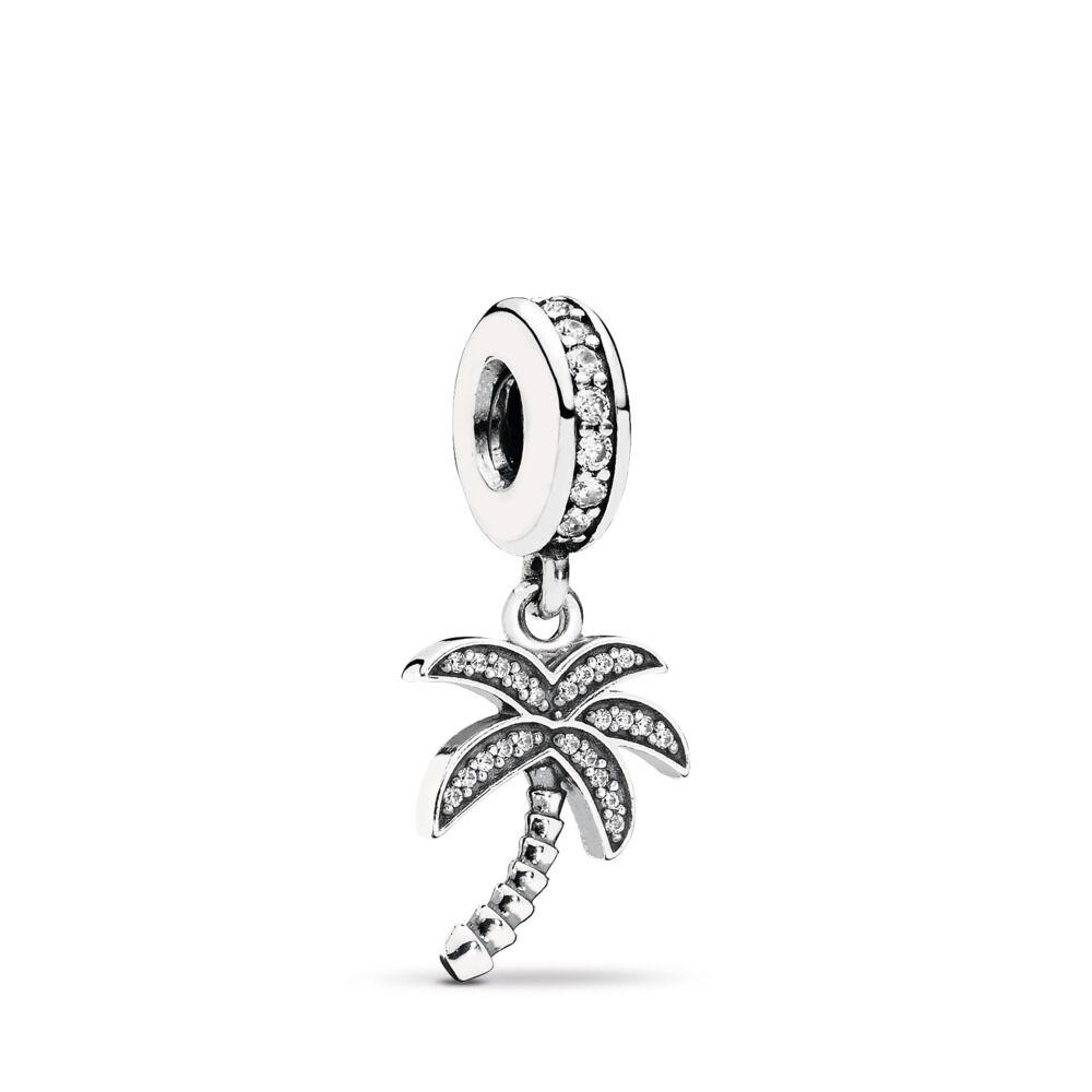collier pandora argent palmier