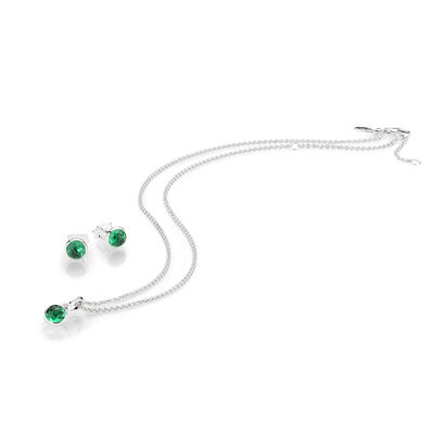 MAY BIRTHSTONE DROPLET GIFT SET
