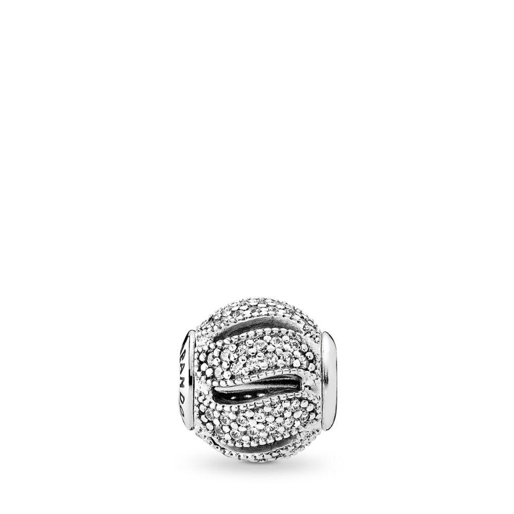 anello pandora intreccio d'amore