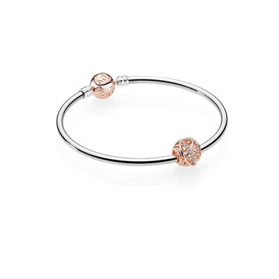 PANDORA ROSE GALAXY BANGLE
