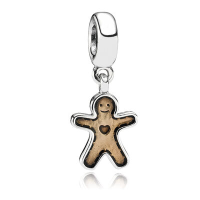 Gingerbread Pendant Charm