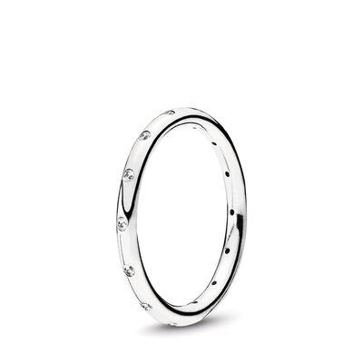 Tröpfchen Ring Silber