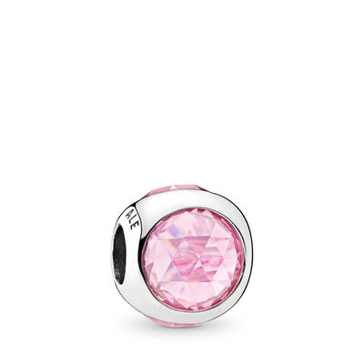 Strahlendes Tröpfchen rosa Charm
