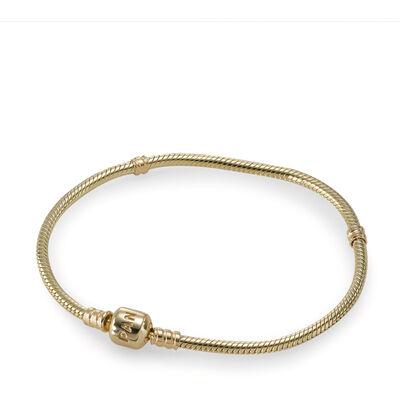 PANDORA Moments Gold Clasp Bracelet - 550702-18