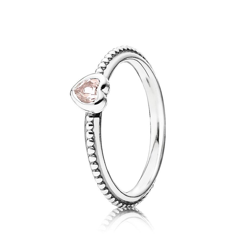 Pandora Silver Heart Ring