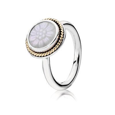 Mutter der Perle Ring