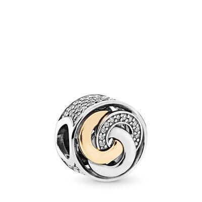 Interlinked Circles Charm