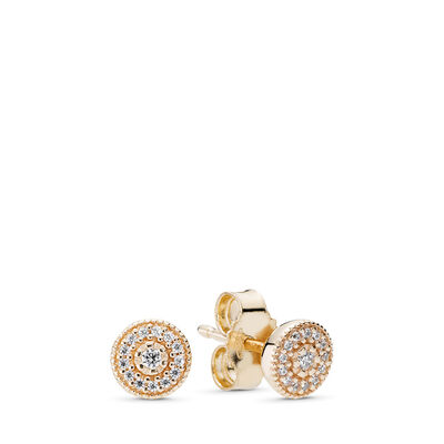 Radiant Elegance Stud Earrings