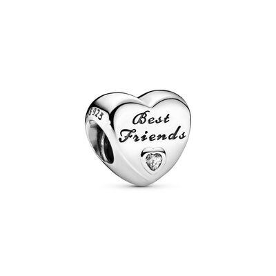 Best Friends-Herz Charm