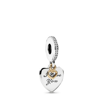 I Love You Forever Pendant Charm