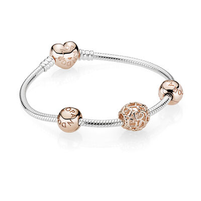 PANDORA ROSE OPEN YOUR HEART BRACELET