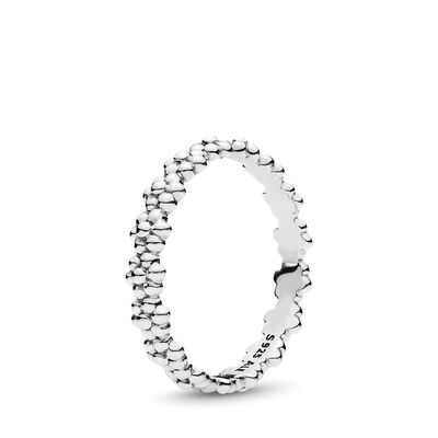 Gänseblümchen-Band Ring