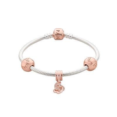 PANDORA Rose interlocked Hearts Bracelet