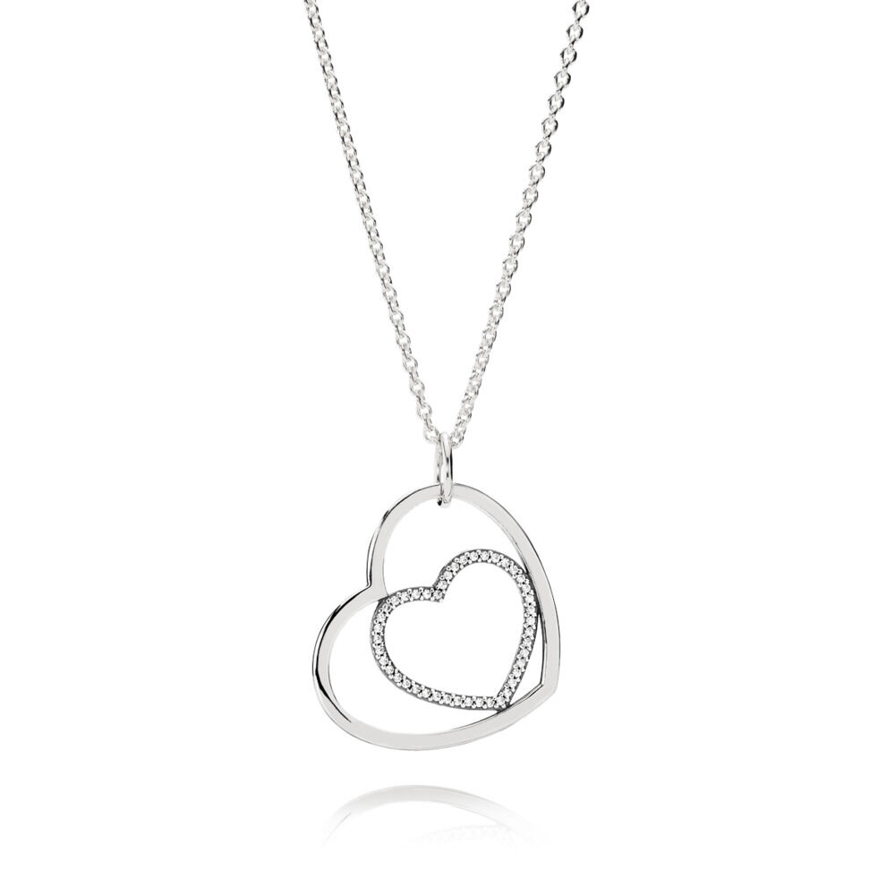 Forever In My Heart Pendant Necklace Pandora Uk