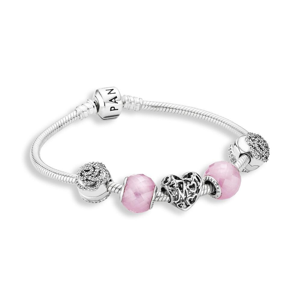Bracelet Précieuse Rose