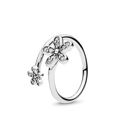 Glanzvolle Gänseblümchen Ring