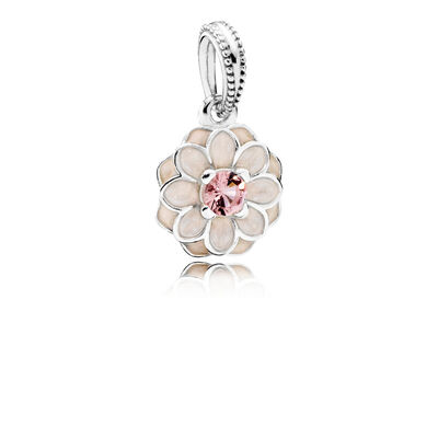 Blooming Dahlia Pendant Charm