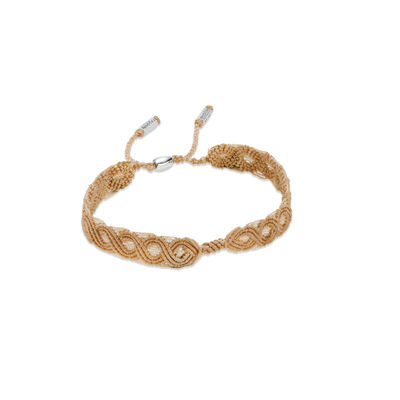 Moments Macramé Bracelet
