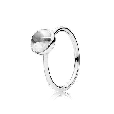 Malerisches Tröpfchen Ring