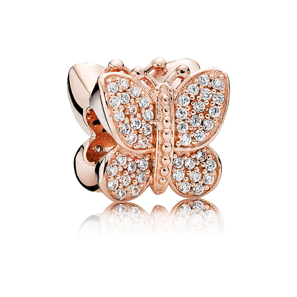Butterfly Pandora Charm