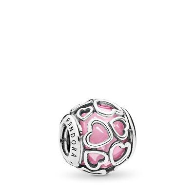 Von Liebe umhüllt rosa Charm