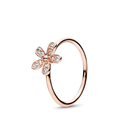 Glanzvolles Gänseblümchen Ring