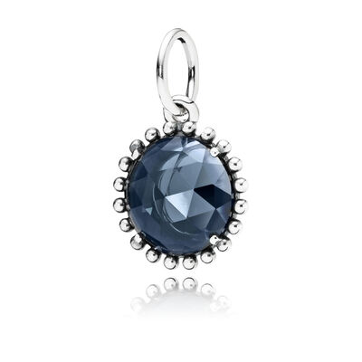 Shining Midnight Crystal Pendant PCN2