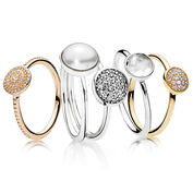 Eleganz Ringstacking