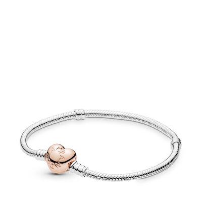Armband Moments met rosé gouden sluiting