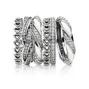 Zestaw pierścionków Miłosna Więź