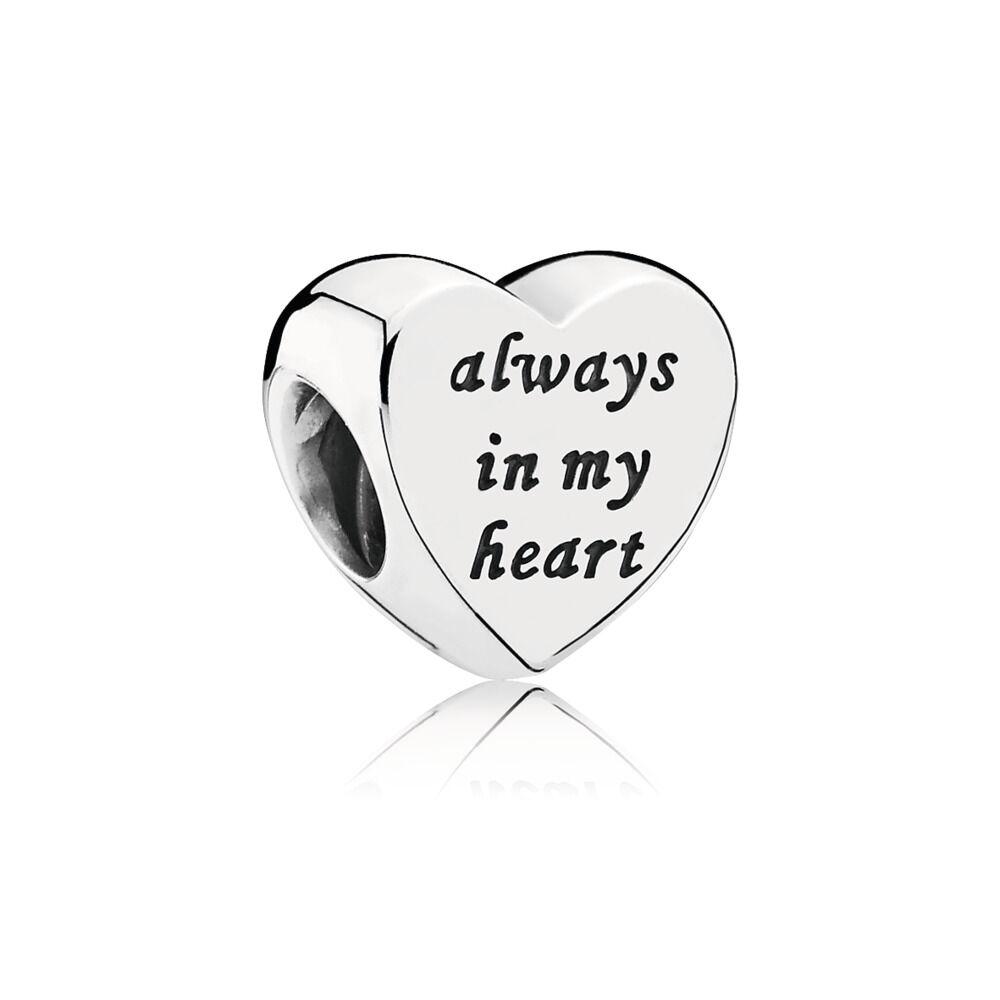 bracciale rigido pandora always in my heart