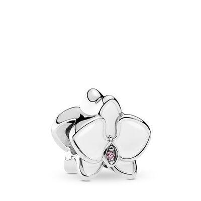 Weiße Orchidee Charm