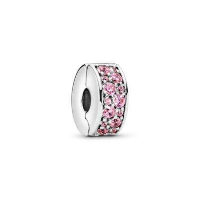 Pink Shining Elegance Spacer Clip