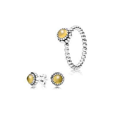 November Birthstone Jewellery Set