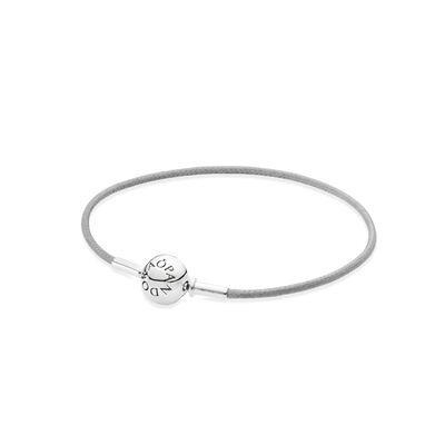 ESSENCE Grey Single Strand Bracelet