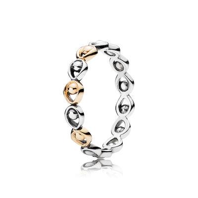 Pfauenfedern Ring